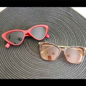 Ladies Retro Cat-Eye Sunglasses